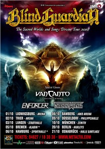 2010 German Tour Poster