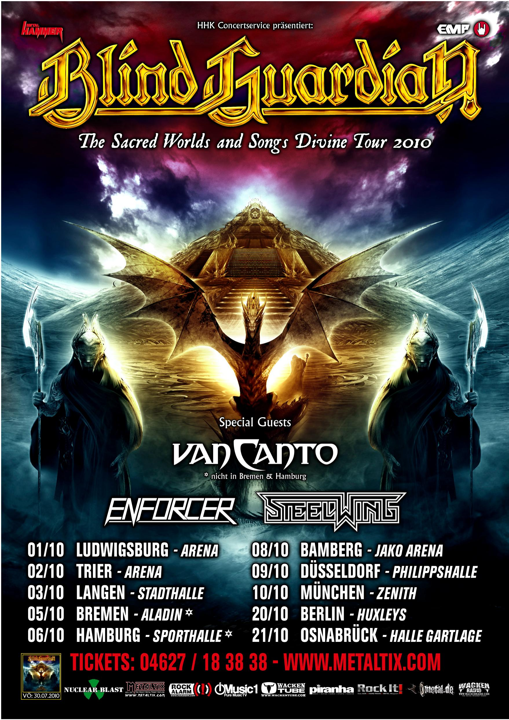Meet And Greet Contest For German Tour Blind Guardian Official Website