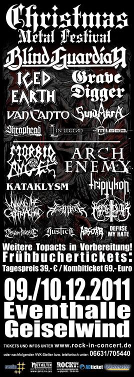Christmas Metal Festival 2011