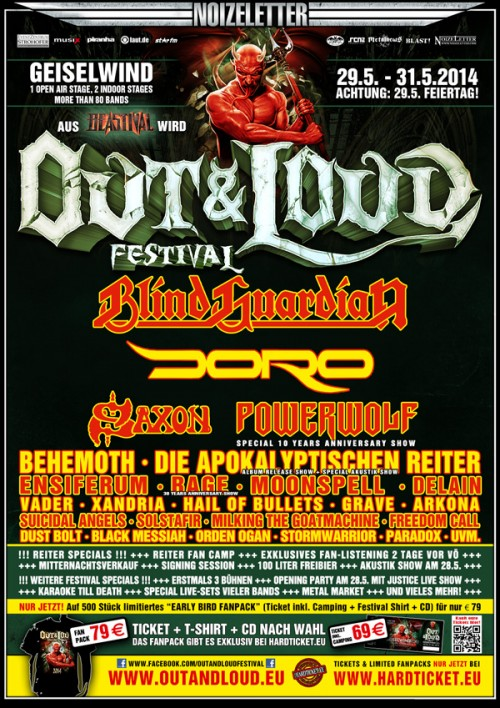 Out & Loud Festival 2013