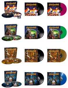 Blind Guardian CD and vinyl re-issues